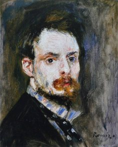 Pierre-Auguste Renoir, Autoritratto,1875