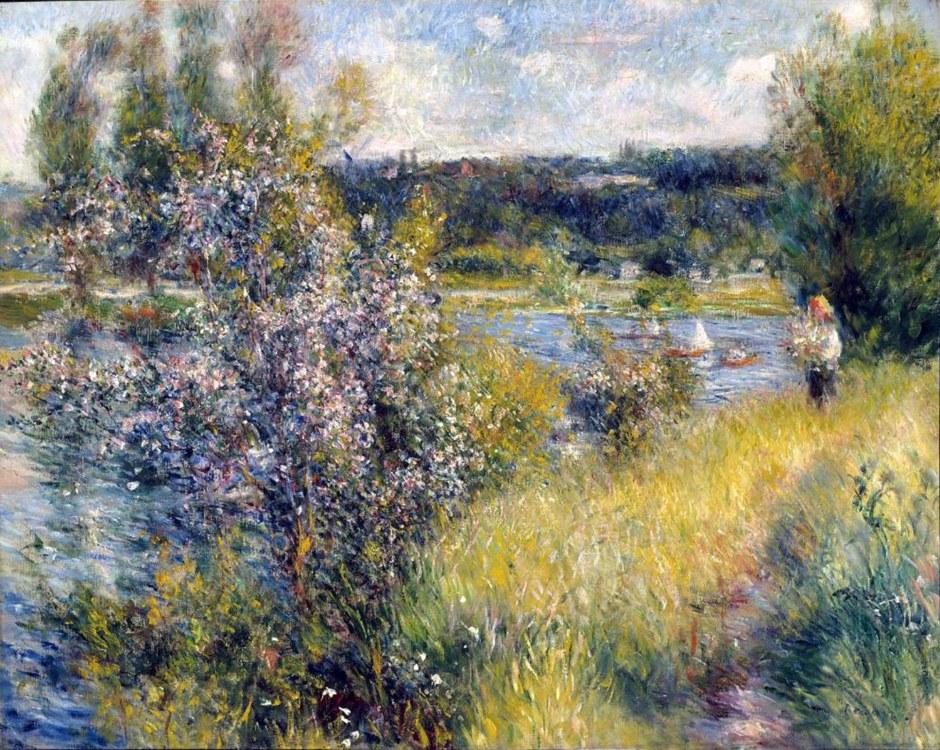 Pierre-Auguste Renoir, La Senna a Chatou, 1881