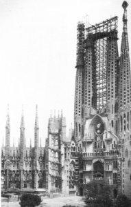 Antoni Gaudì Sagrada Familia foto 1928 img