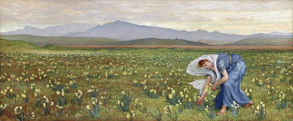 Walter T. Crane, La primavera, 1883