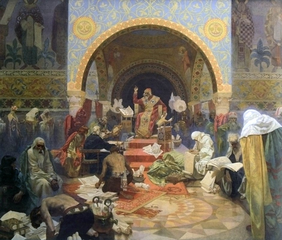 04 Alfons Mucha Lo zar bulgaro Simeone