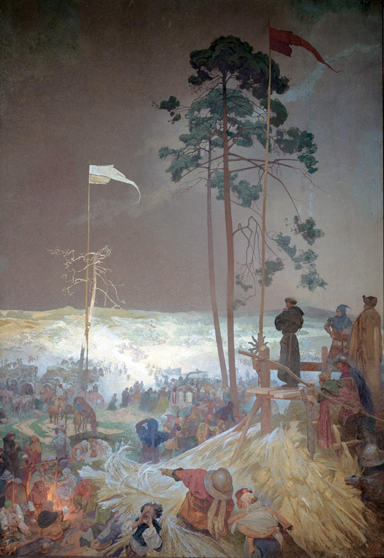 09 Alfons Mucha L'incontro a Krizky