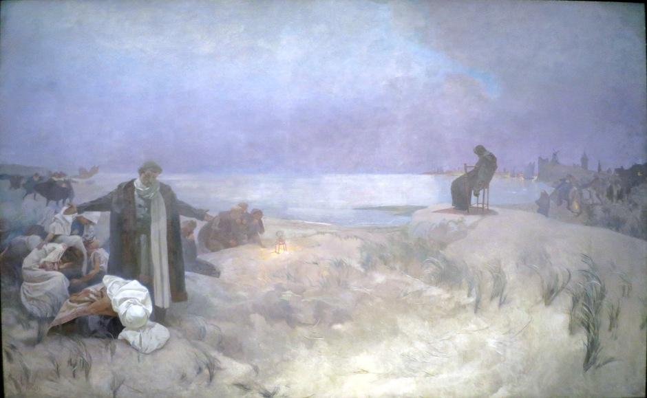 16 Alfons Mucha Gli ultimi giorni di Jan Amos Komensky a Nardeen
