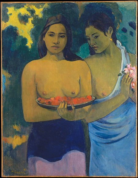 Paul Gauguin donne tahitiane quadro