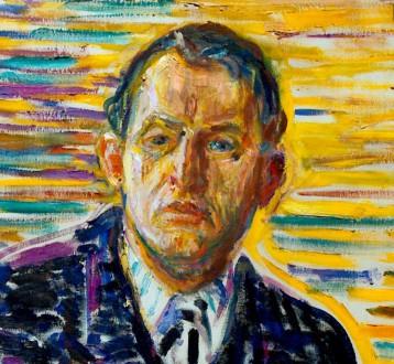 Edvard-Munch_Autoritratto-nella-clinica-1909-dett