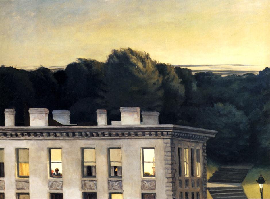Edward Hopper, Casa al crepuscolo