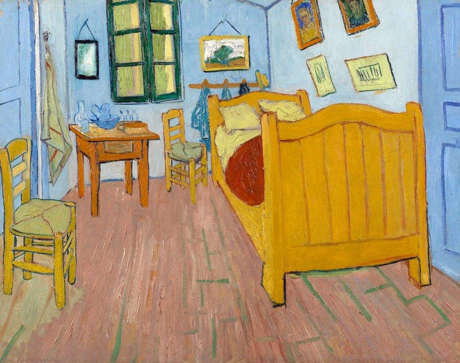 Vincent Van Gogh, Camera da letto