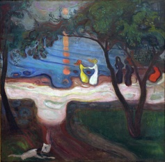Edvard Munch, Danza sulla spiaggia, 1900