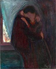 Edvard Munch, Il bacio, 1897
