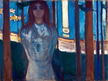 Edvard Munch, La voce, notte d'estate, 1896
