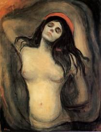 Edvard Munch, Madonna, 1894-1895