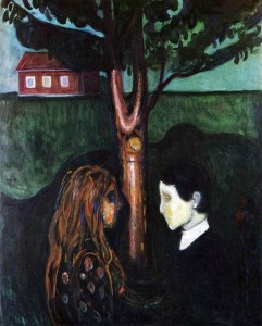 Edvard Munch, Occhi negli occhi, 1894