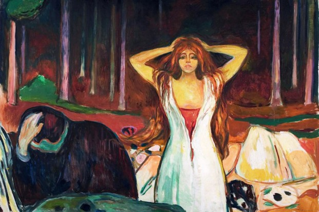 Edvard Munch, Ceneri, 1894