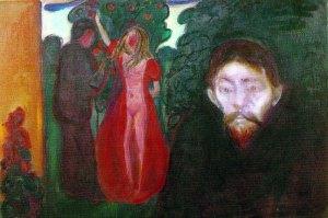 Edvard Munch, Gelosia, 1895