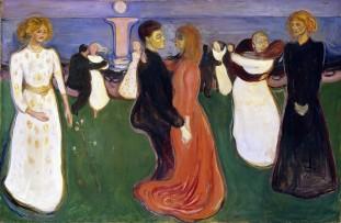 Edvard Munch, La danza della vita, 1899-1900