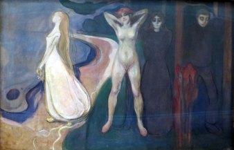 Edvard Munch, La donna in tre fasi, 1894