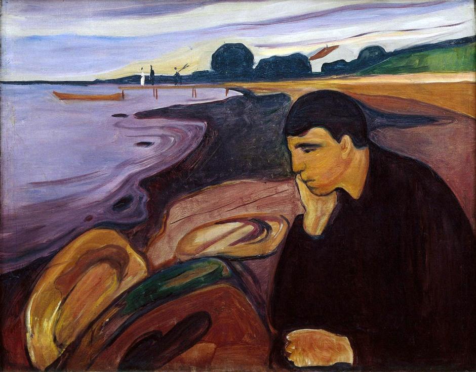 Edvard Munch, Malinconia, 1894-96