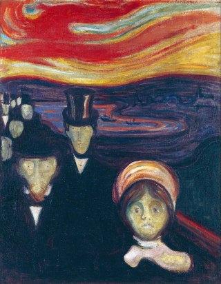 Edvard Munch, Angoscia, 1894