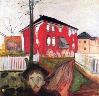 Edvard Munch, Edera rossa, 1898-1900