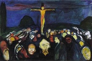 Edvard Munch, Golgota, 1900