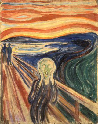 Edvard Munch, L'urlo, 1893