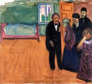 Edvard Munch, Odore di morte, 1895