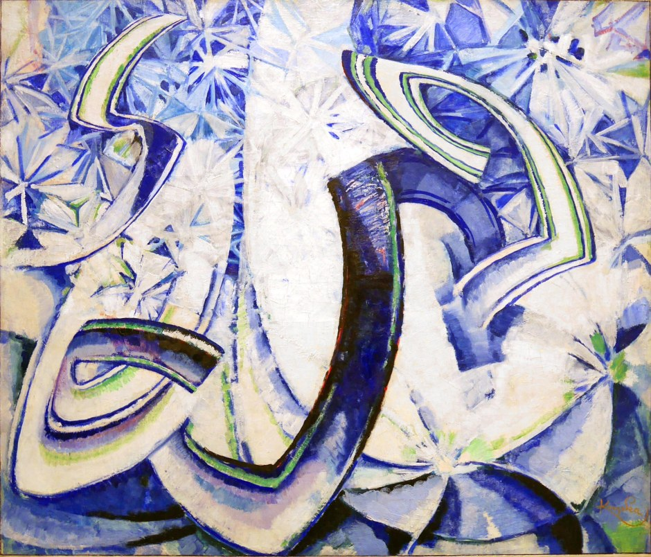 16_František Kupka, variazioni sul soffiare del blu, 1913-22