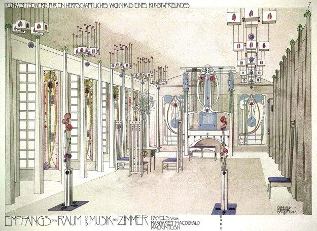 Charles Rennie Mackintosh, Disegno