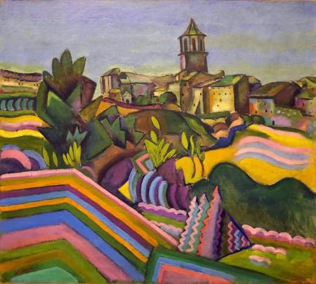 Joan Mirò, Prades, il villaggio, 1917