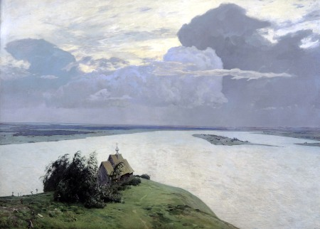 Isaac Levitan, Sopra l'eterna pace, 1894