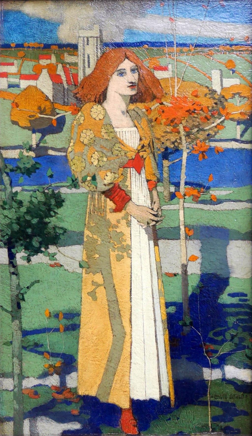David Gauld, Sant'Agnese, 1889-90