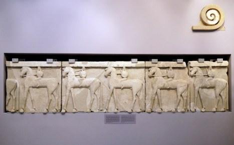 Creta, museo di Heraklion, bassorilievo