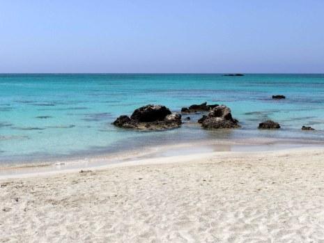 Creta, spiaggia di Elafonissi