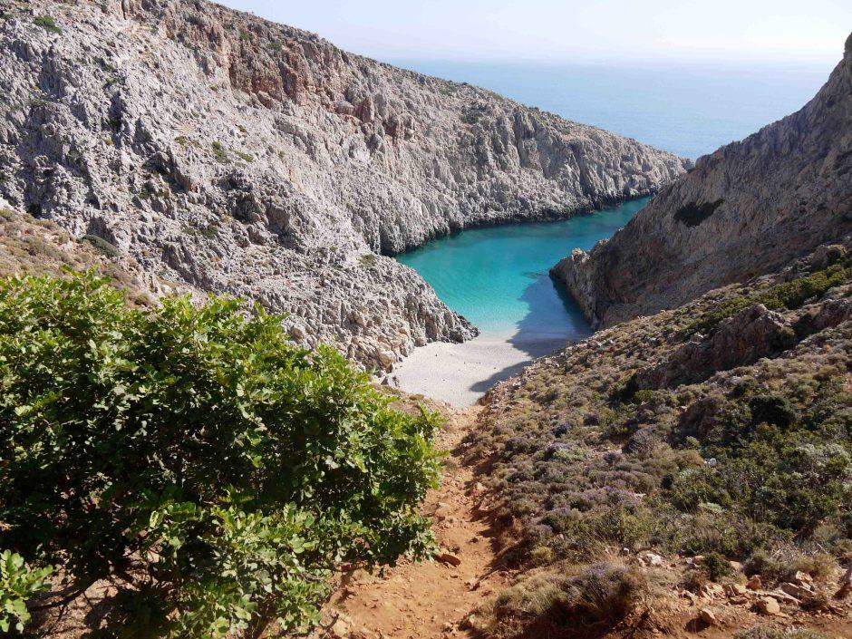 Creta, spiaggia di Seitan Limania