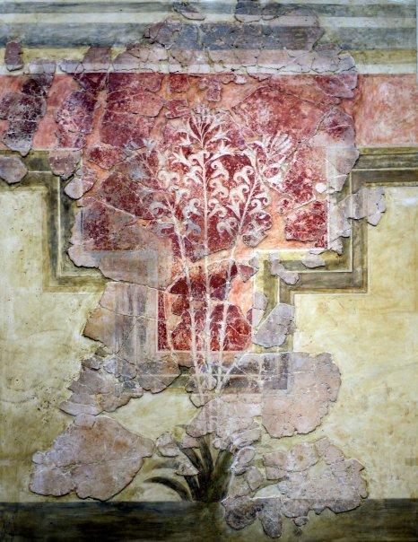 Creta, museo di Heraklion, affresco