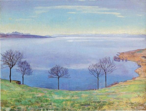 Ferdinand Hodler, Lago di Ginevra da Chexbres, 1898