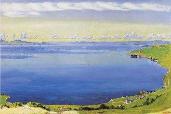 Ferdinand Hodler, Lago di Ginevra da Chexbres, 1904