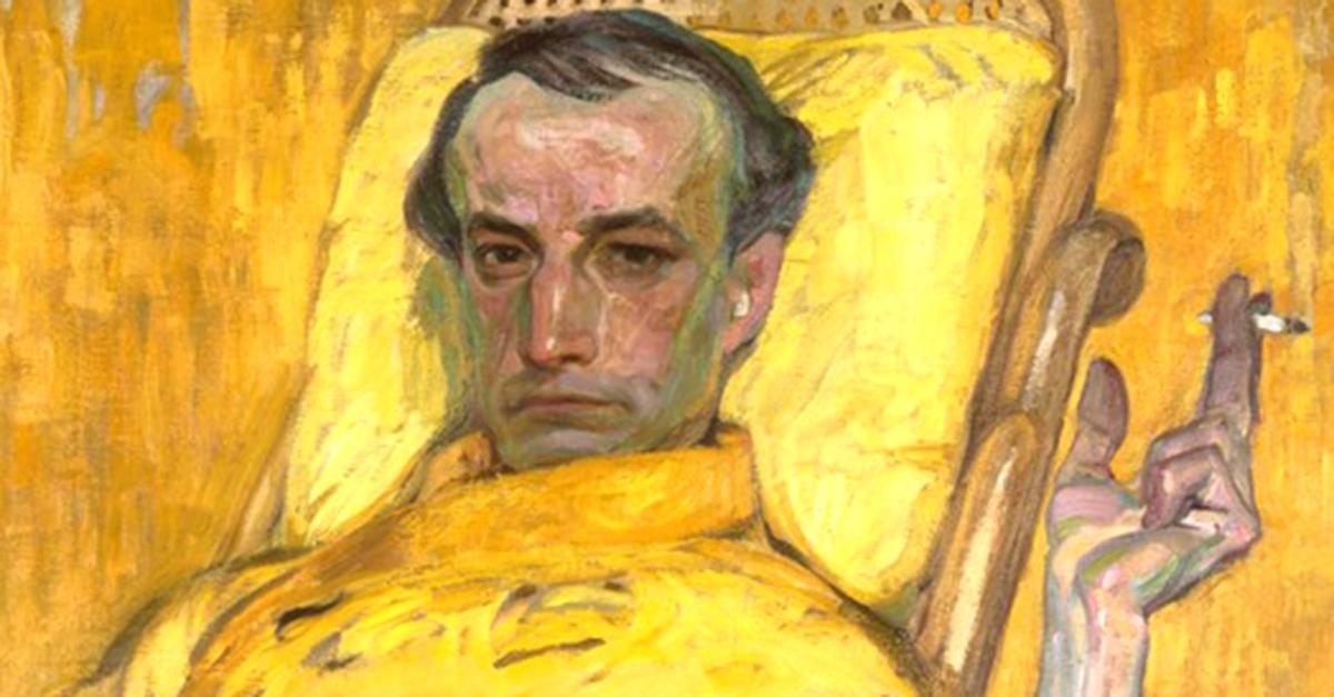 Autoritratti d'autore: František Kupka si veste di giallo