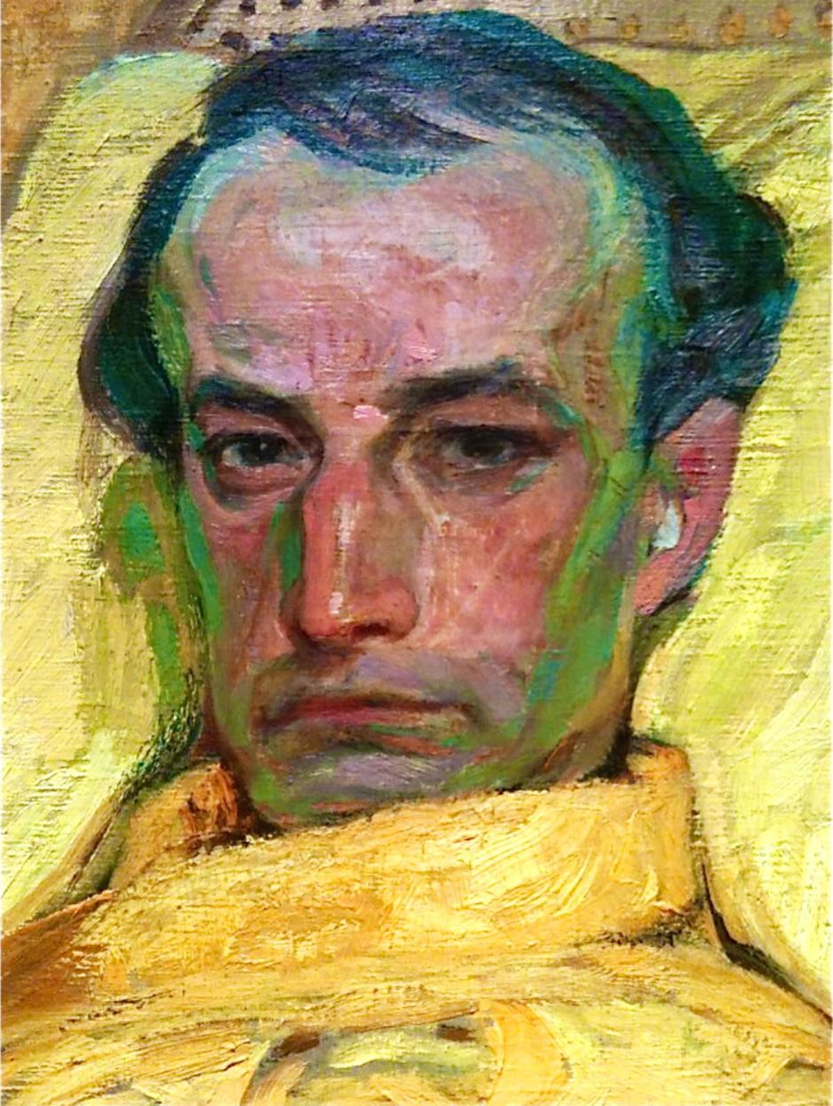 František Kupka, Le gradazioni di giallo, part, 1907