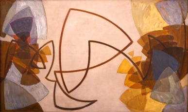 Frantisek Kupka, Assolo di una linea marrone, 1912-13