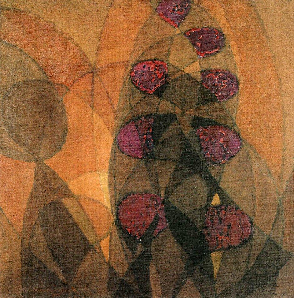 Frantisek Kupka, Cromatismo caldo, 1912