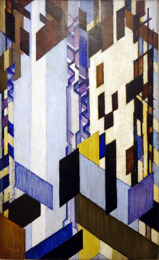 Frantisek Kupka, Piani verticali e laterali, 1913-23