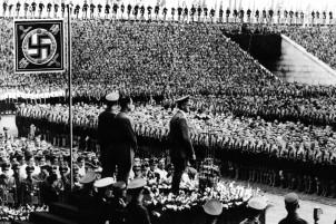 Campo degli zeppelin, raduno del partito nazista