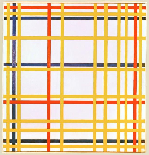 Piet Mondrian, Broadway Boogie Woogie, 1942-43