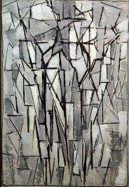 Piet mondrian, Composizione alberi 2, 1912-13