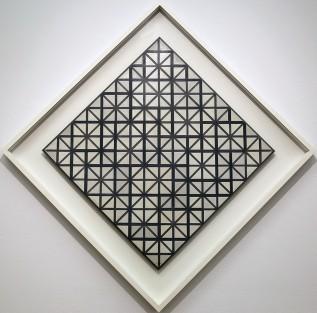 Piet Mondrian, Composizione con linee grigie, 1918