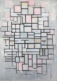 Piet Mondrian, Composizione n. IV, 1914