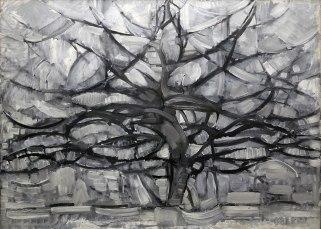 Piet Mondrian, l'albero grigio, 1911