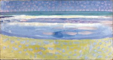 Piet Mondrian, Mare dopo il tramonto, 1909