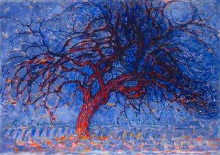 Piet Mondrian, Sera, l'albero rosso, 1908-10
